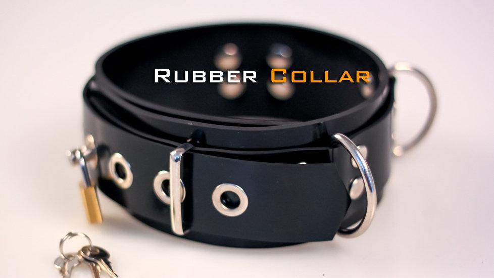 Rubber Collar-Black
