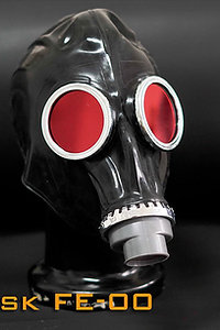 Gas Mask-Rubber