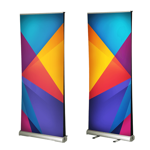Double Sided Retractable Banner