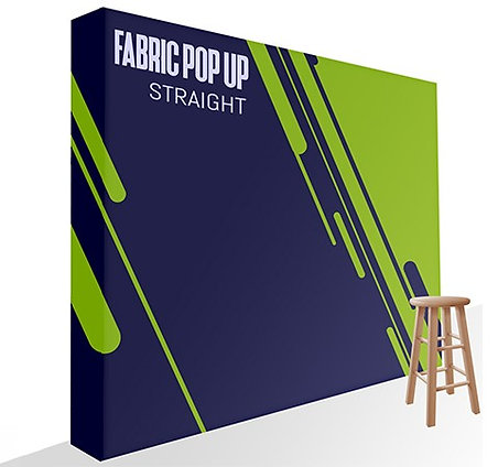Fabric Pop Up - Straight