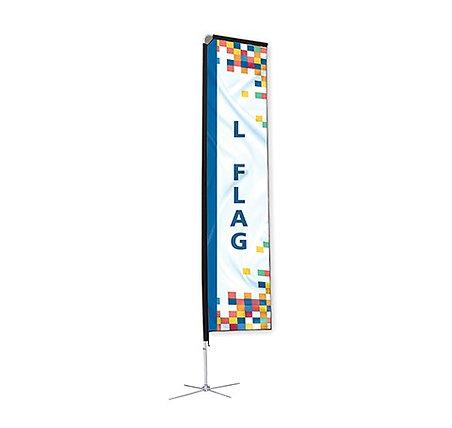L Shape Flag