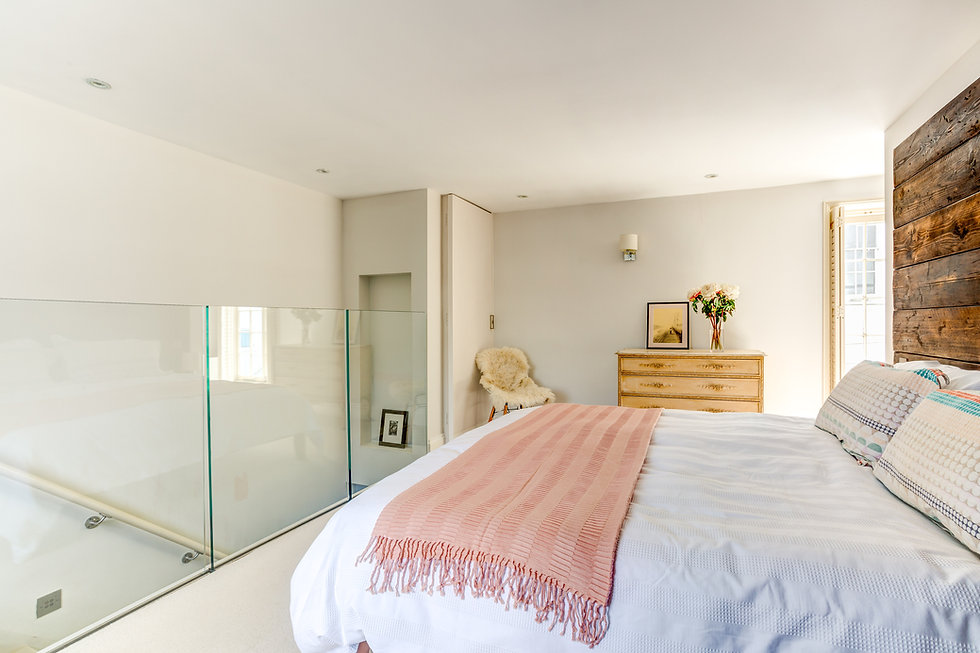 Main bedroom after home staging East Sussex.jpg