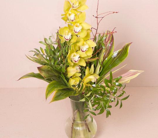 Flowers & Beautiful Greens | Fresh Flower Bouquet