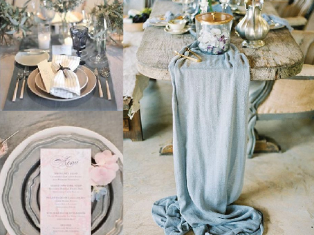 WEDDING TREND SERIE:  2020 - 2021 Color Wedding Trends