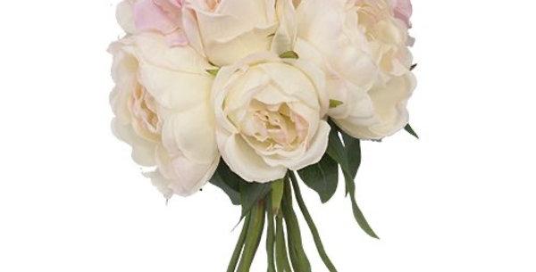 Pink Peony Rose Hydrangea Bouquet