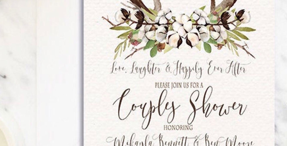 Woodland Inspired Formal Invitation, Save the Date, Menu, ...