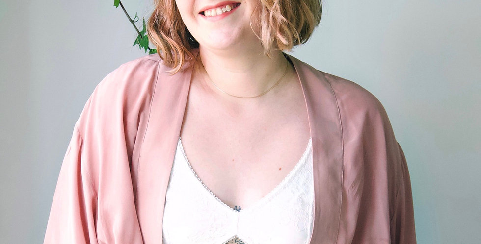 Lace wireless bra & matching bottoms | Bridal Lingerie