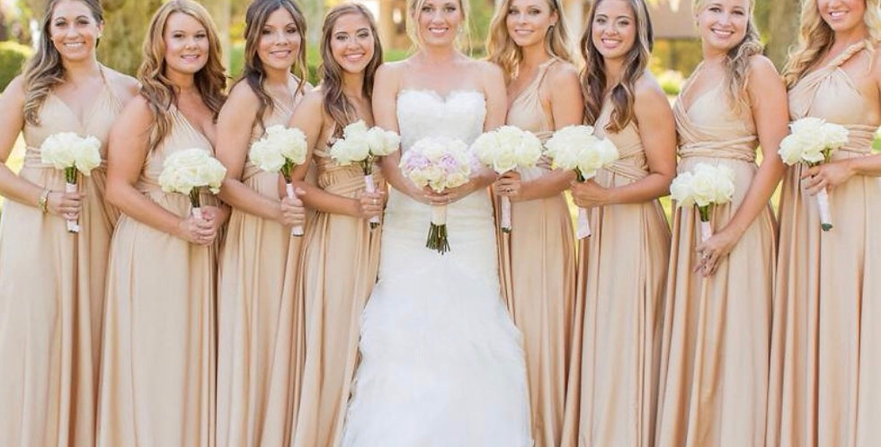 Customizable Infinite Bridesmaids Dress