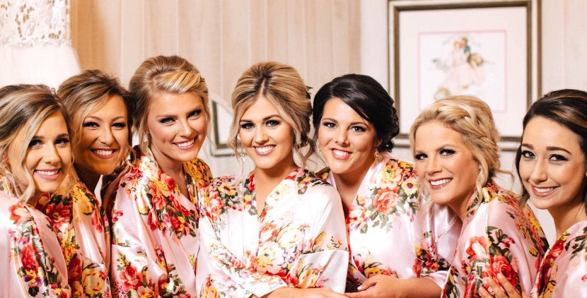 Silky Satin Brides & Bridesmaid Robes