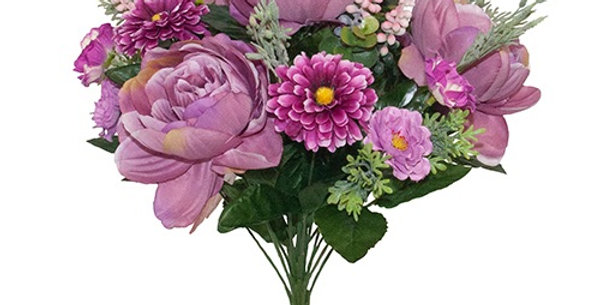 Peonies and mix flowers bouquet