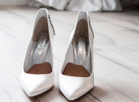 Wedding shoes? What to wear under your wedding dress? What's available in Montreal?