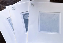 mounted prints