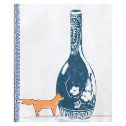 Fox & Vase
