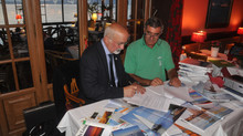 Signature de la convention avec la fondation du patrimoine