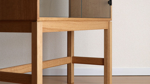 glass cabinet_nara oilfinish