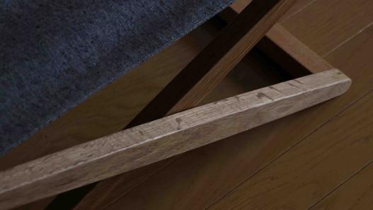 Folding chair_nara oilfinish