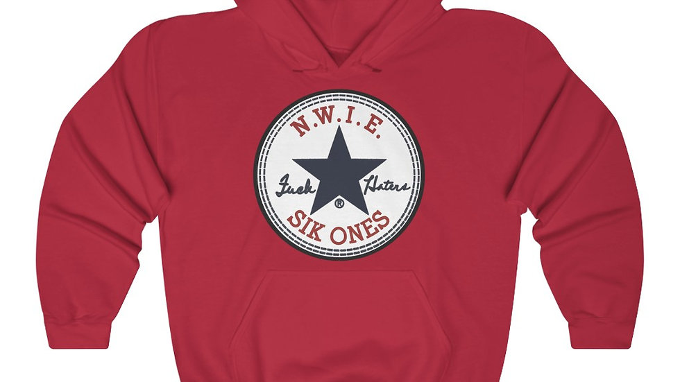 Retro Sik Ones F Haters Unisex Heavy Blend™ Hooded Sweatshirt