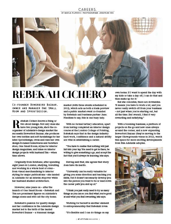 Rebekah Cichero Media