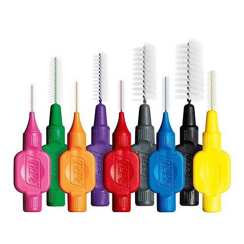 photo of dental brushes