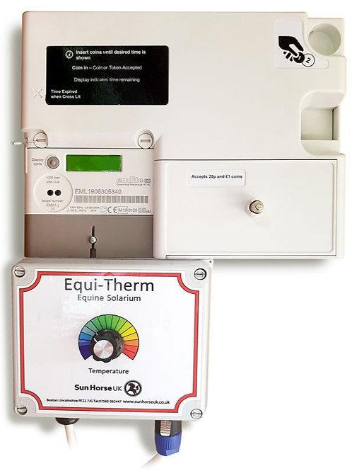 Coin Meter for Equi-Therm Horse Solarium