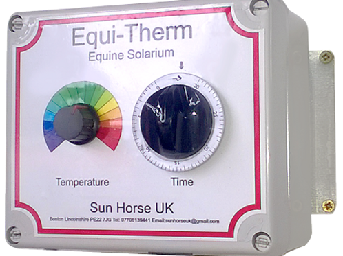 Control Panel for Equi-Therm Horse Solarium