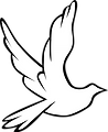 Mark Forth independant funeral services spaldin lincolnshire dove logo