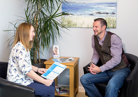 photo showing privatedental centre client consultation
