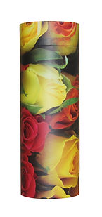 photograph of funeral cremation ashes scatter tube roses design mark forth lincolnshire