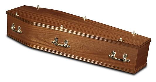light_mahogany_lincoln_traditional_coffin