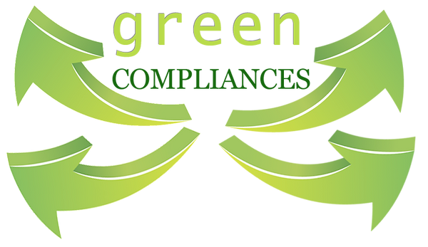 graphic with arrows and text green compliances