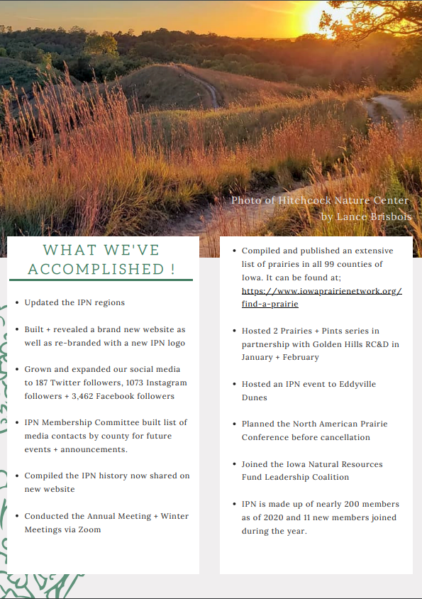 Annual Report Page 2 Update