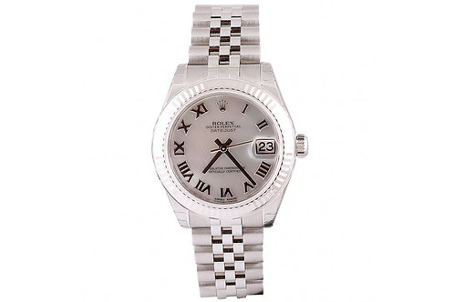 Rolex Datejust Mother of Pearl 31mm Steel & White Dial