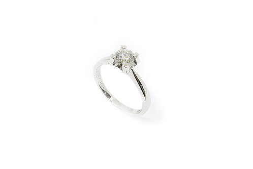 Single Solitaire Diamond Ring