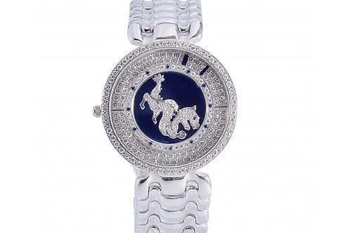 Sarcar Dragon Diamond Dial 30mm White Gold