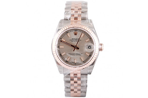 Rolex Datejust Silver Dial 31mm Steel & Rose Gold