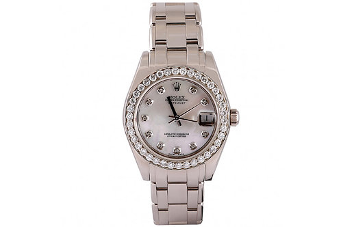 Rolex Pearl Master Datejust White Gold and Diamonds