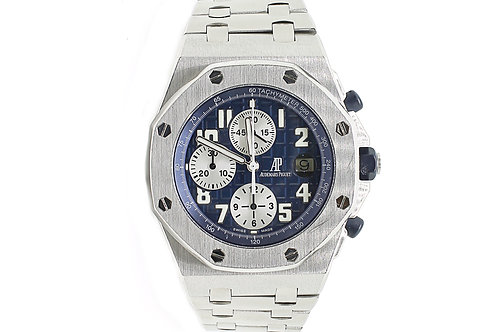 Audemars Piguet Royal Oak Offshore Chronograph 42mm Blue Dial
