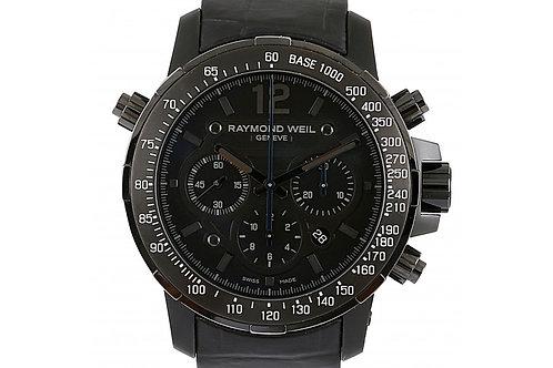 Raymond Weil Nabucco Chronograph Black Dial 46mm Titanium