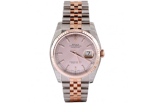 Rolex Datejust Rose gold & Steel