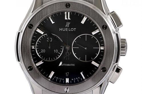 Hublot Classic Fusion Chronograph Black Dial 45mm Titanium