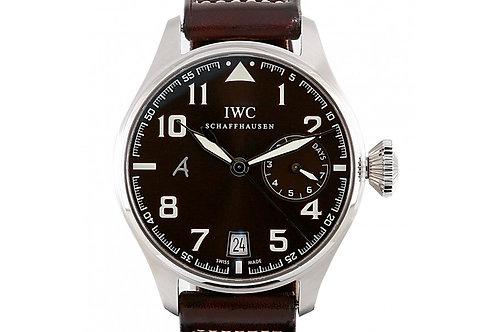 IWC Big Pilot's Watch Antoine de Saint Exupéry Brown Dial 46.2mm Steel