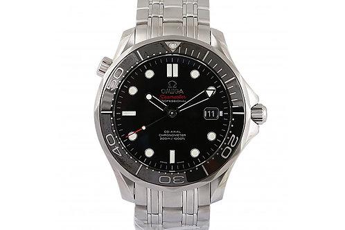 Omega Seamaster Diver 300M Black Dial 41mm Steel