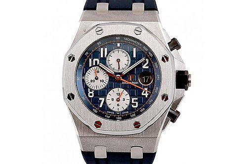 Audemars Piguet Royal Oak Offshore Chronograph Navy Blue Dial 42mm Steel
