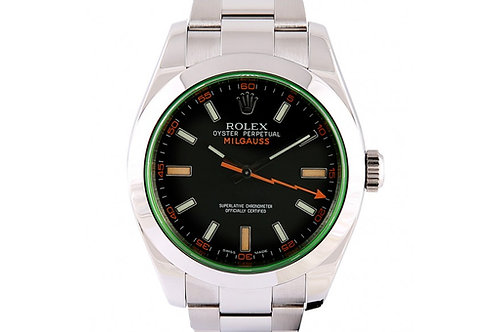 Rolex Milgauss Black Dial 40mm Steel