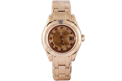 Rolex Pearlmaster Yellow Gold