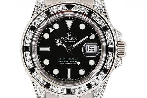 Rolex GMT Master 2 White Gold Black Dial 40mm