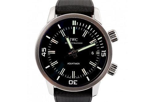 IWC Vintage Aquatimer Black Dial 44mm Steel