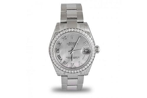 Rolex Datejust Steel & Diamonds