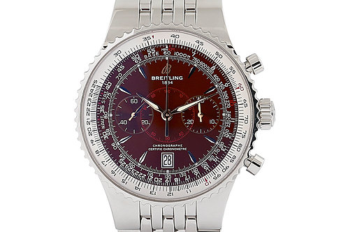 Breitling Montbrillant Legende with Bronze Dial Steel 47mm