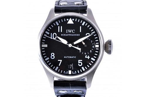 IWC Classic Big Pilot Black Dial 46.2mm Steel